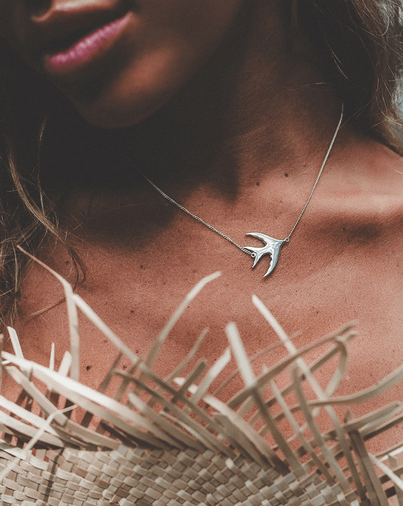 Bird Necklace - Island Soul Silver Jewelry from Bali