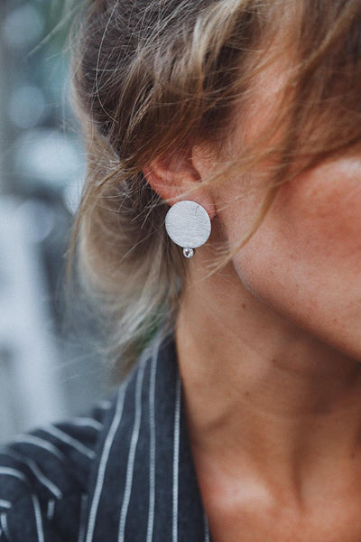 Asymmetric Earrings - Island Soul Silver Jewelry from Bali