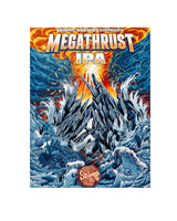 "Megathrust IPA High Definition 18"" x 24"" Print"