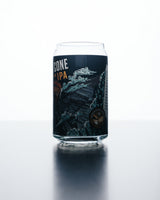 16 oz Beer Can Glass