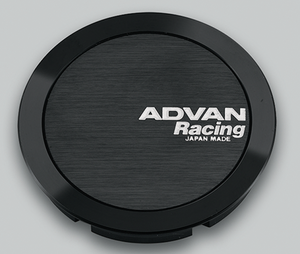 Advan 73mm Full Flat Centercap - Black