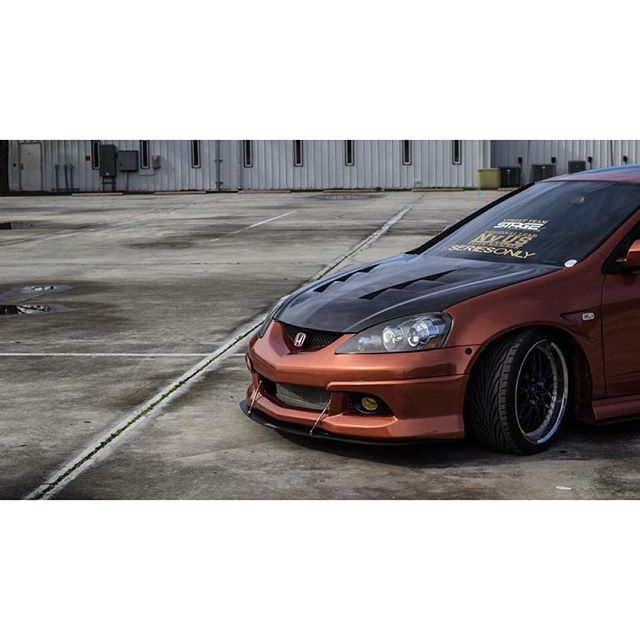 TS-STYLE CARBON FIBER HOOD FOR 2002-2006 ACURA RSX/Type S
