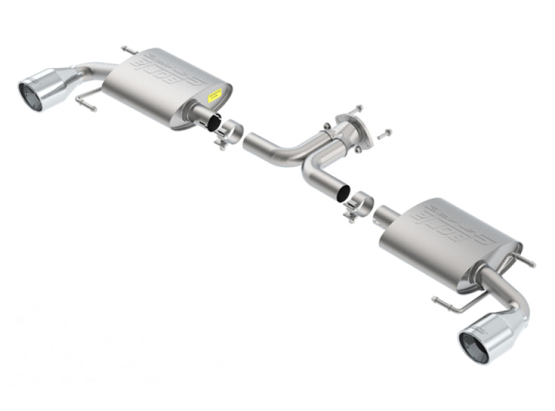 Borla 14-16 Mazda 3 2.0/2.5L AT/MT FWD S-Type Cat-Back Exhaust Single Split Rear Exit