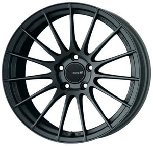 Enkei RS05-RR 18x9.5 22mm ET 5x114.3 75 Bore Matte Gunmetal Wheel Evo 8/9 350z