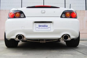 Invidia 00+ S2000 Q300 Dual Tip Cat-back