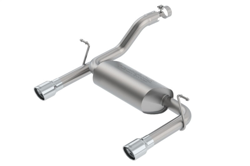 Borla 2018 Jeep Wrangler JL/JLU 3.6L V6 2DR/4DR Touring SS Axle Back Exhaust w/ 3.5in Tips