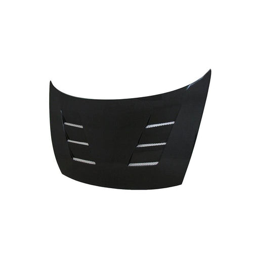 S-STYLE CARBON FIBER HOOD FOR 2006-2010 HONDA CIVIC 4DR
