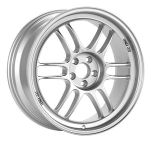Enkei RPF1 17x9 5x114.3 45mm Offset 73mm Bore Silver Wheel RX8
