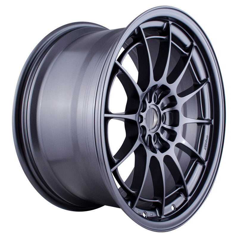 Enkei NT03+M 18x9.5 5x100 40mm Offset Gunmetal Wheel (MIN ORDER QTY 40)