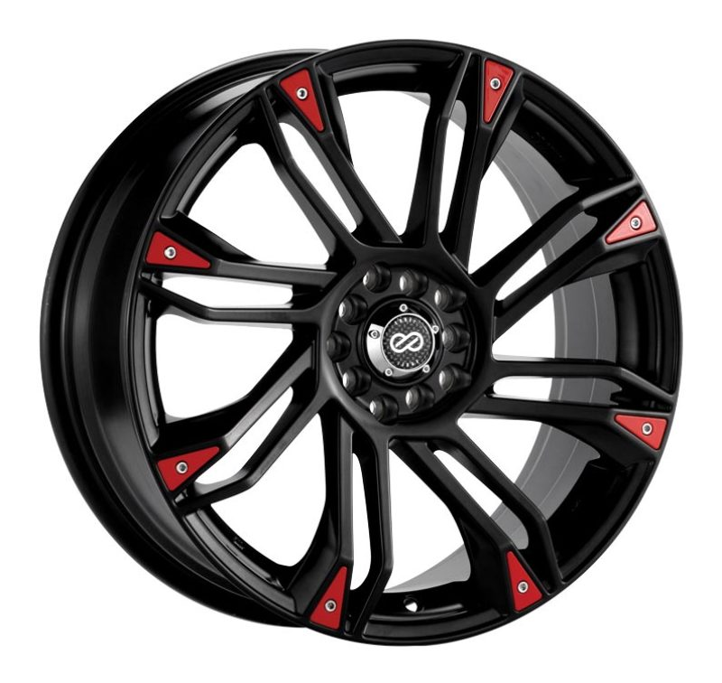 Enkei GW8 17x7 4x100/114.3 42mm Offset 72.6 Bore Matte Black Wheel