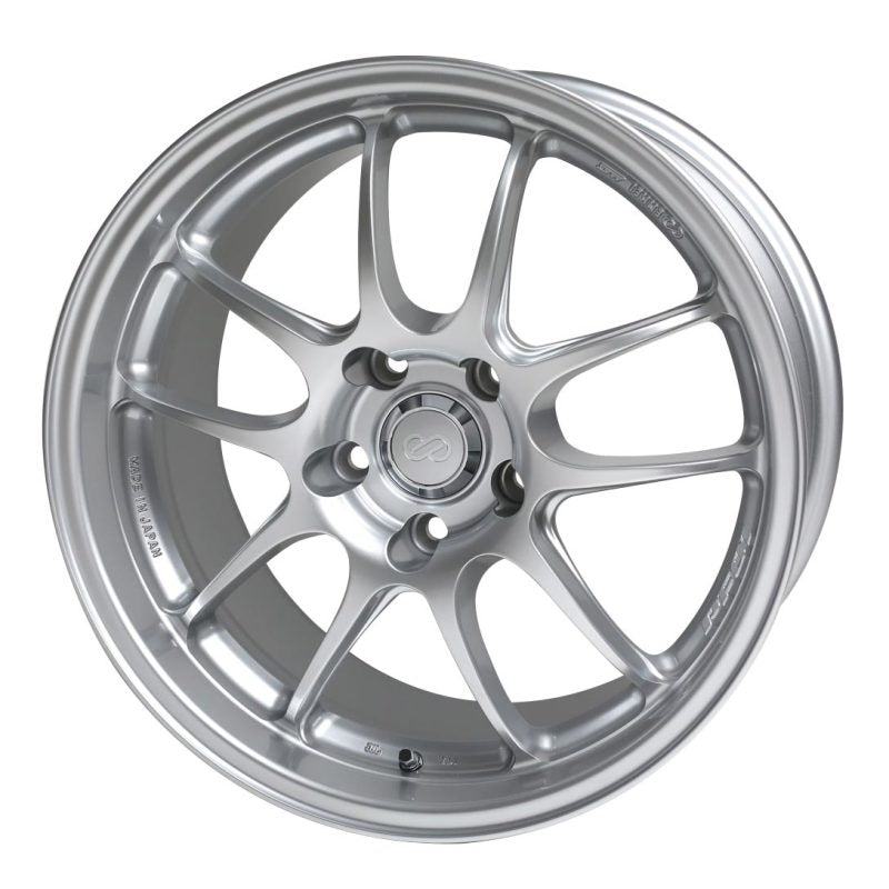 Enkei PF01A 18x9.5 5x114.3 45mm Offset Silver Wheel (for Ford Mustang)