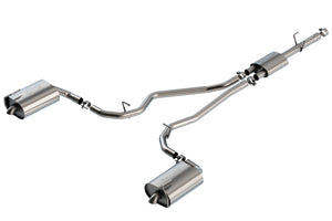 Borla 2020 Ford Explorer XLT/Limited Ecoboost 2.3L 2.25in S-type Exhaust - Turndown Tip