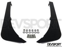 DevSport Front Bumper Canards - V2 (1992-1995 Honda Civic)