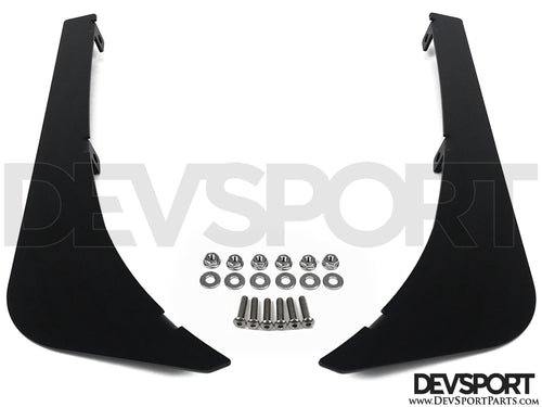 DevSport Front Bumper Canards - V2 (1996-2000 Honda Civic)