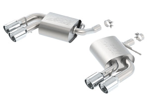 Borla 2016 Chevy Camaro V6 AT/MT S-Type Rear Section Exhaust w/o Dual Mode Valves
