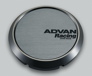 Advan 73mm Flat Centercap - Hyper Black