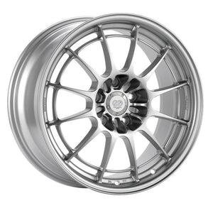 Enkei NT03+M 18x10.5 5x114.3 30mm Offset 72.6mm Bore Silver Wheel