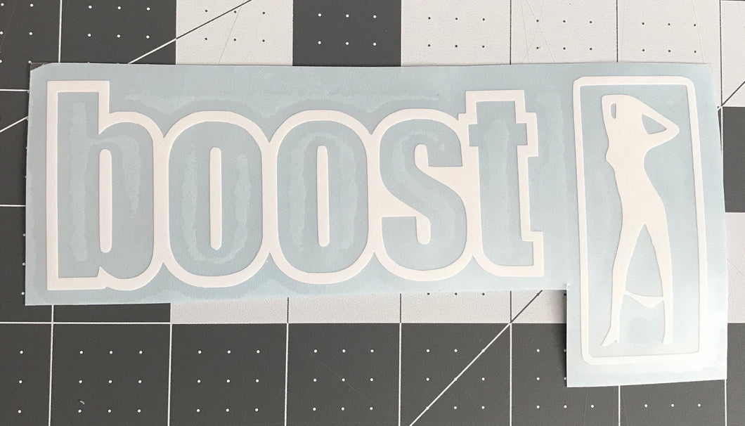 Mom Approved Boost Gets You Laid Decal