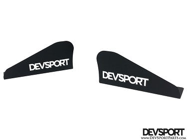 DevSport Front Wind Splitter Add-On Winglets