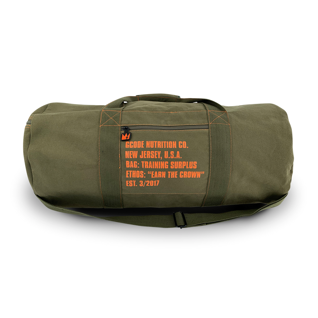 The GCode Militant 2020 Custom Duffle Bag