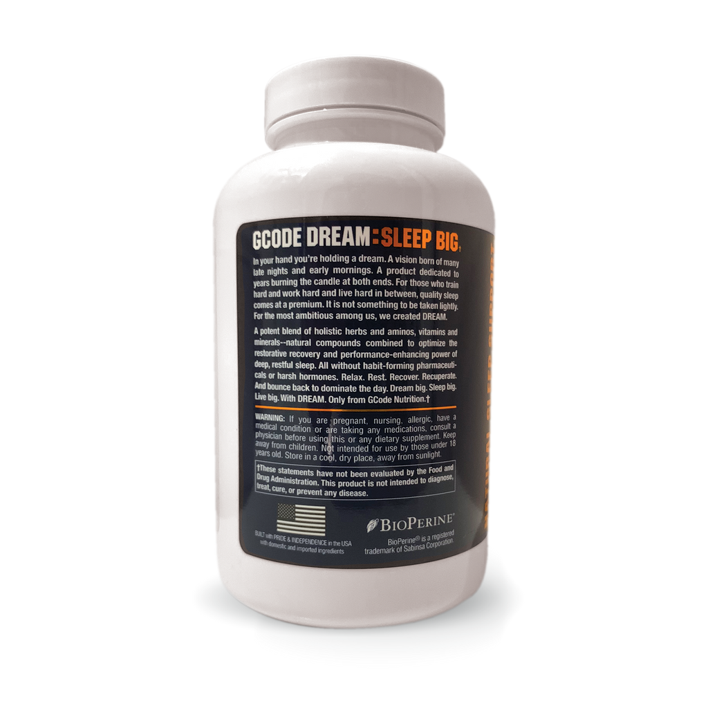 DREAM: Natural Sleep Support (120 Capsules)