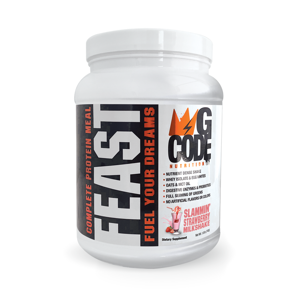 GCode FEAST: Complete Protein Meal