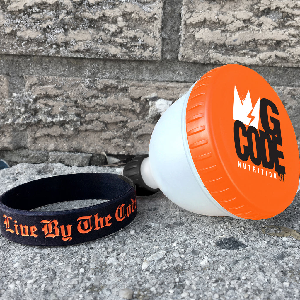 "GCode Fill-N-Go Funnel / ""Live By The Code"" Bracelet - Combo Pack"