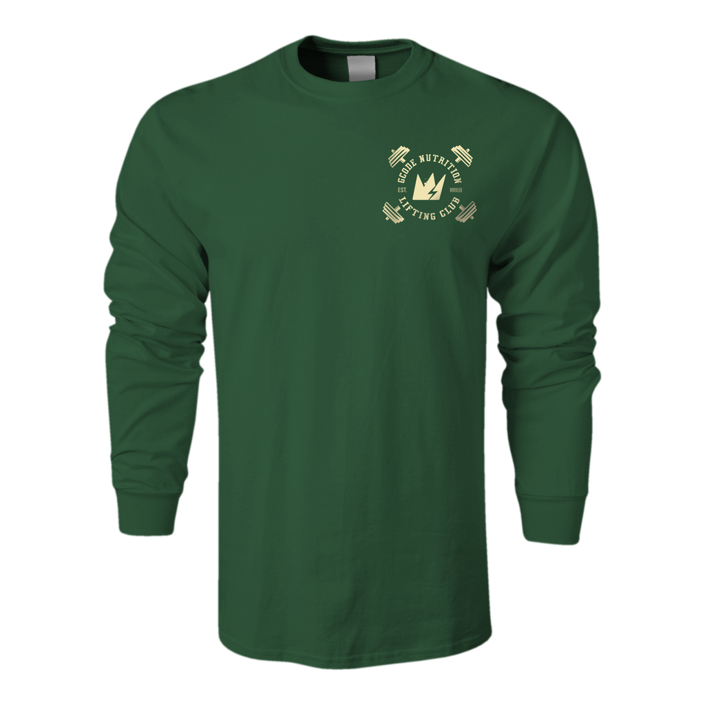 #GROWvember Grizzly Long Sleeve (Forest Green)
