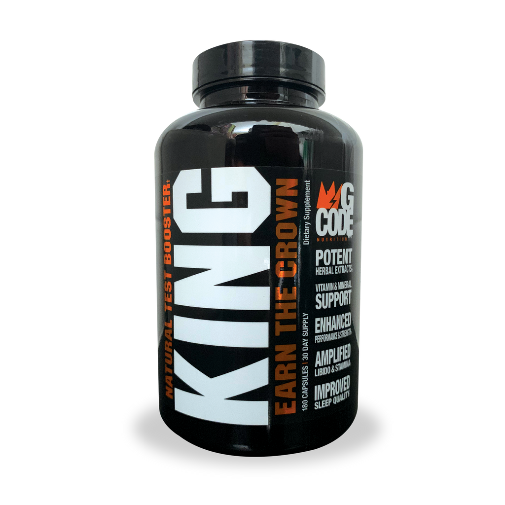 KING: Natural Test Booster (180 Capsules)