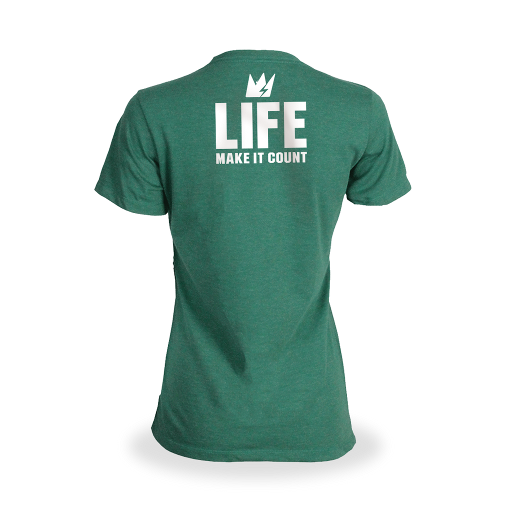 LIFE: NATURAL POWER GREENS (GREEN APPLE) 30 SERVINGS (FREE LADIES TEE)