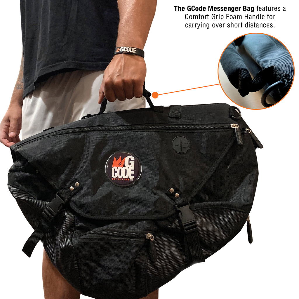 GCode Rugged Utility Messenger Bag
