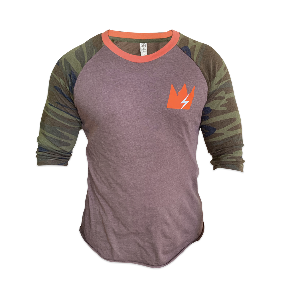 """Orange Army"" 3/4 Sleeve Raglan"