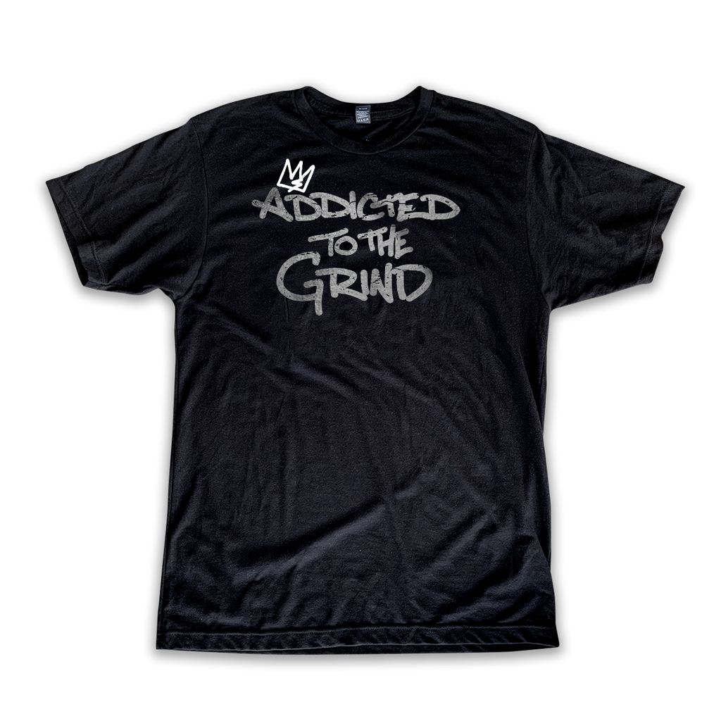 """Addicted to the Grind"" Olympia Shirt"