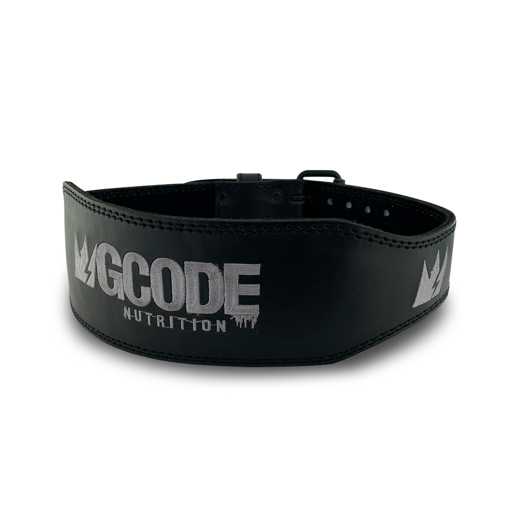 GCode Stealth Lifting Belt (Black/Silver)