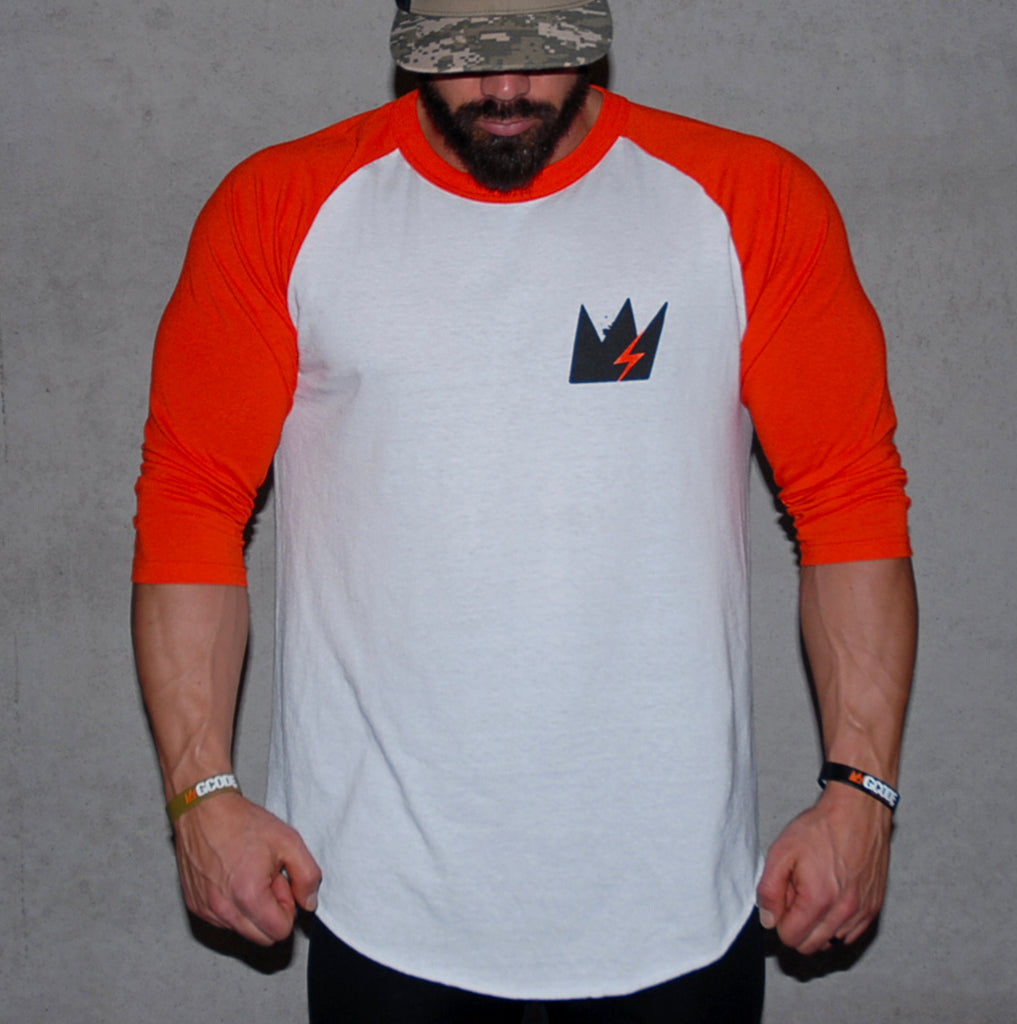 The Orange Thursday 3/4 Sleeve Raglan