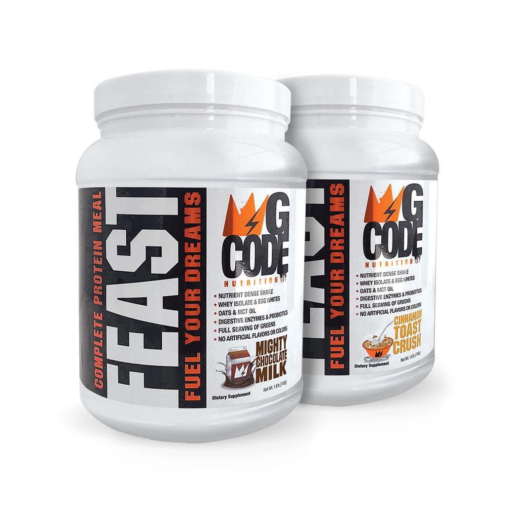 GCode FEAST: Complete Protein Meal (Double Bundle)
