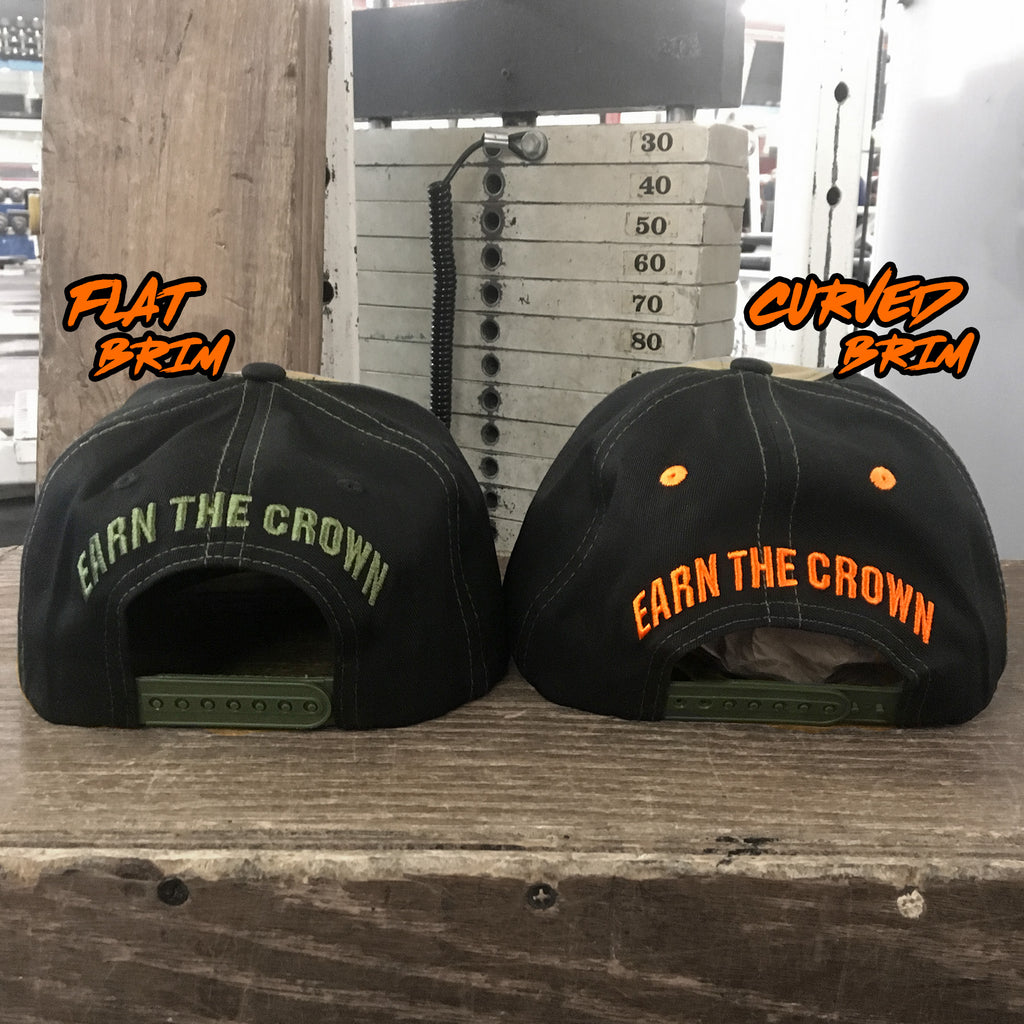 Earn The Crown Digital SnapBack (Flat Brim)