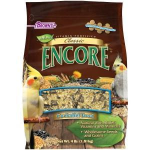 Browns Encore Classic Natural Cockatiel - New York Bird Supply
