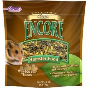 Browns Encore Classic Natural Hamster Food - New York Bird Supply