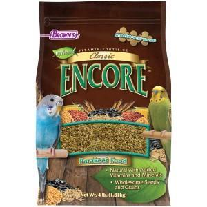 Browns Encore Classic Natural Parakeet Food - New York Bird Supply