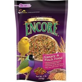Browns Encore Premium Canary & Finch Food 1lb - New York Bird Supply