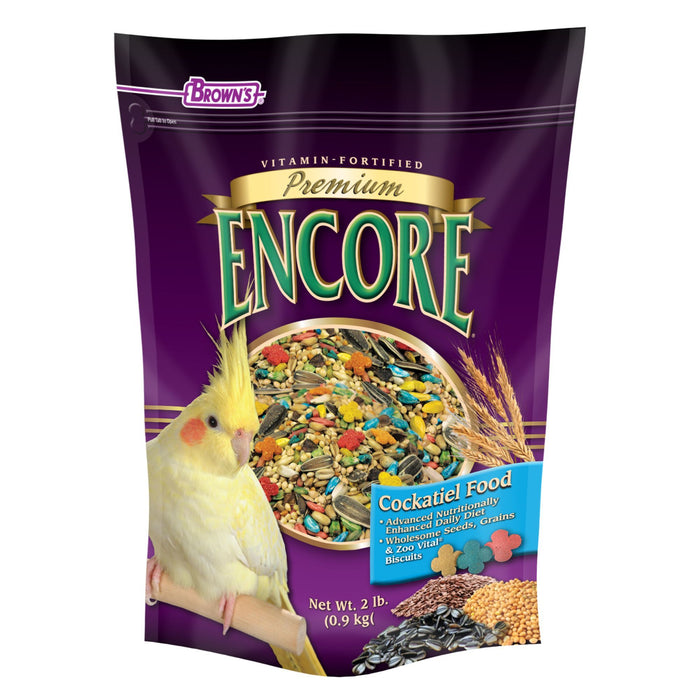 Browns Encore Premium Cockatiel Food - New York Bird Supply