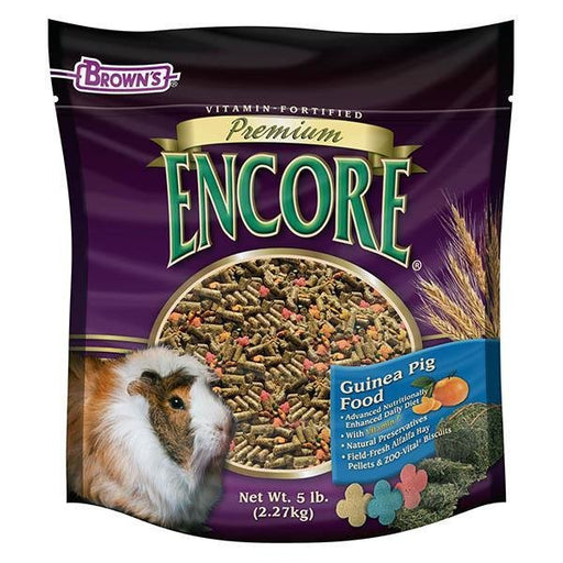 Browns Encore Premium Guinea Pig - New York Bird Supply
