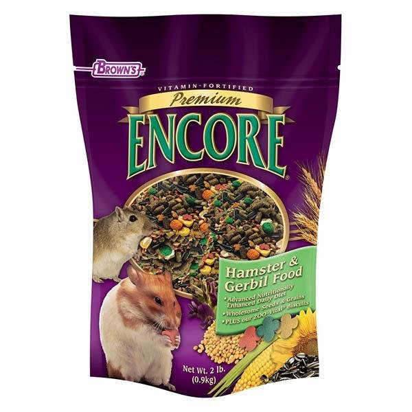 Browns Encore Premium Hamster & Gerbil Food - New York Bird Supply