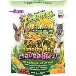 Browns Timothy Hay Craveables 24oz - New York Bird Supply