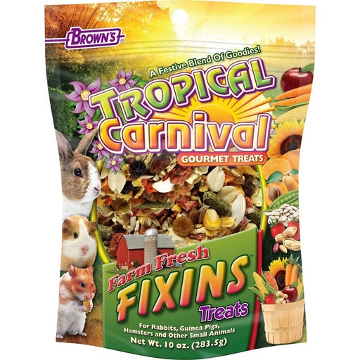 Brown's Tropical Carnival Farm Fresh Fixins Small Animal Treats - New York Bird Supply