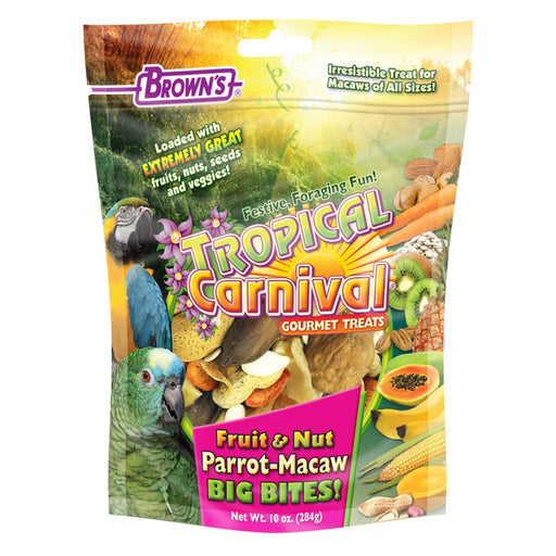 Brown's Tropical Carnival Fruit and Nut Parrot Big Bites - New York Bird Supply