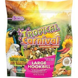 Browns Tropical Carnival Gormet Large Hookbill - New York Bird Supply