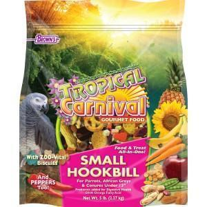Browns Tropical Carnival Gourmet Small Hookbill - New York Bird Supply