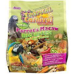 Browns Tropical Carnival Natural Parrot and Macaw Big Bites - New York Bird Supply